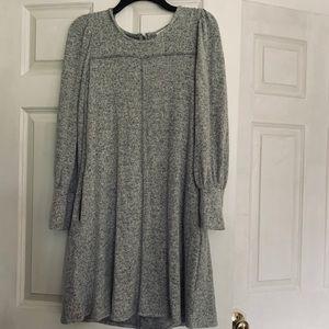 Soft gray dress